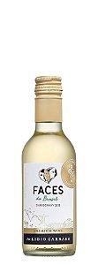 Vinho branco Chardonnay Faces do Brasil Lídio Carraro 187,5ml