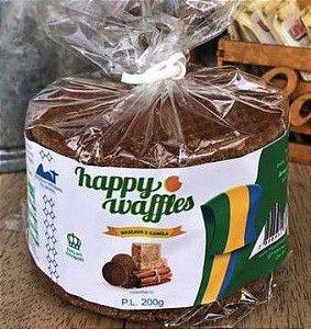 Stroopwaffles Mascavo & Canela Happy 200g