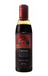 Creme Aceto Balsâmico Frutas do Bosque 250ml Paganini