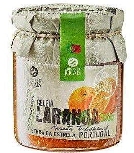 Geleia de Laranja sem açúcar 280g Quinta dos Jugais