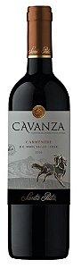 Vinho tinto Carmenère Cavanza