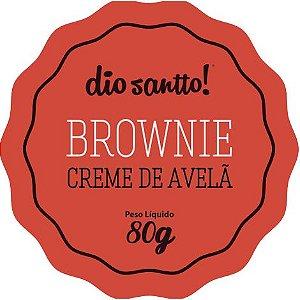 Brownie Creme de Avelã 70g Dio Santo
