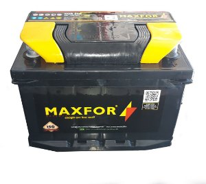 Bateria MaxFor 50ah 1 ano Garantia