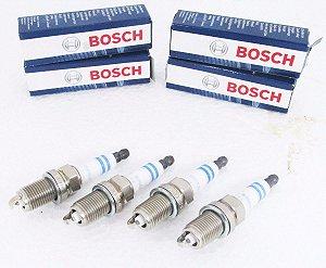 Jogo Velas Ignição Bosch Iridium 0242236571 | FR7KI332S CRUZE 1.8 16V GOLF 1.8 20V SONIC 1.6 16V