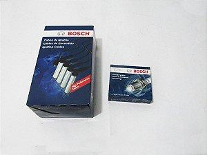 Kit Cabo E Vela Original Bosch Uno Mille 1994 A2001 Gasolina