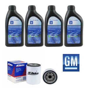 Kit Oleo Gm Dexos Sintetico 5w30 e Filtro Oleo ACDelco Onix Prisma Cobalt Agile