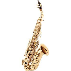 Saxofone Eagle Soprano Curvo SP508