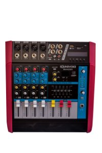 Mesa Amplificada Soundvoice MA420