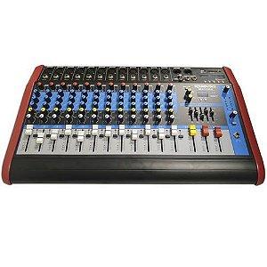 Mesa de Som Amplificada SoundVoice 12 Canais MA1230 X