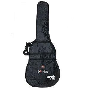Capa Simples Violão Clássico Drek Bag - Musical Presentes