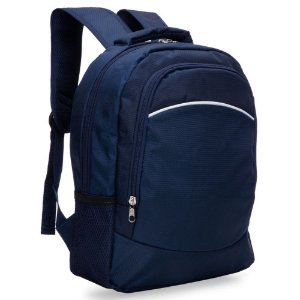 Mochila azul para notebook