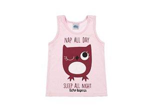 Pijama Feminino Regata e Shorts (Brilha no escuro)-9035