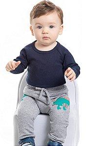 Calça de Moletom Bebê menino (PM4163)
