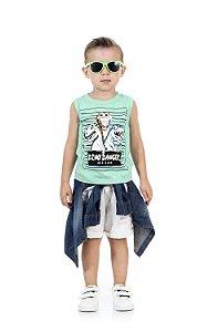 Camiseta Regata Masculina em malha-BB2043