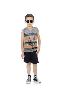 Camiseta Regata Masculina em meia malha-BB4044