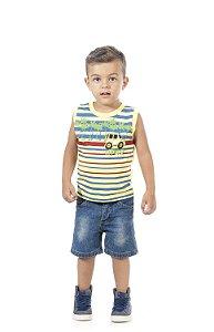 Camiseta Regata Masculina em meia malha-BB2045