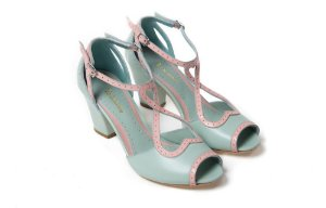 Sapato Corinne Candy - Verde Água