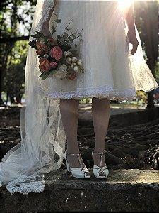 Sapato Pierrot - Off White