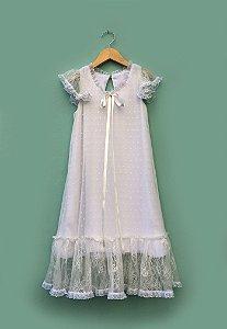 Vestido Asa Branca - Off White