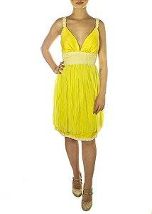 Vestido Amarelinho - Amarelo