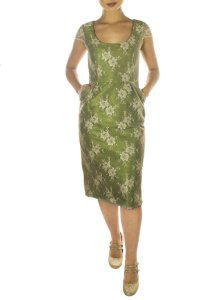 Vestido Audrey - Verde