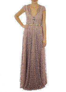 Vestido Baronesa de Itu - Rosê