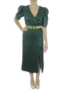 Vestido Beija-Flor - Verde