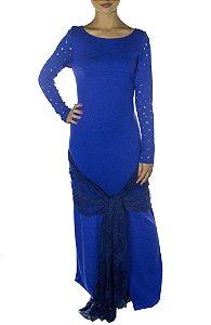 Vestido Bic - Azul