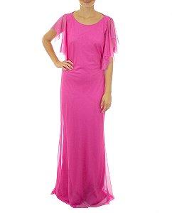 Vestido Borboletas - Rosa