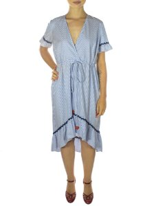 Vestido Caraiva - Azul