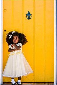 Vestido Quindim - Amarelo