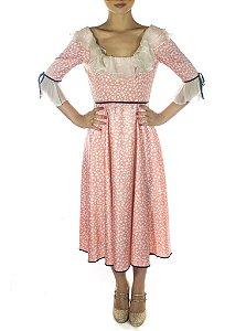 Vestido Chiclette - Rosa