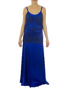 Vestido Cidade Luz - Azul
