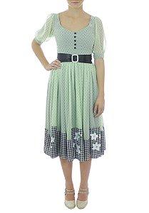 Vestido Harajuko - Verde