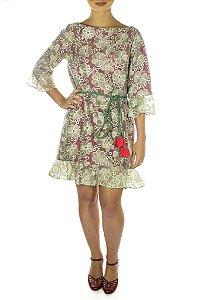Vestido Obi - Rosê