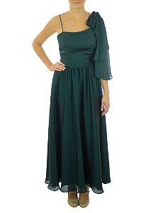 Vestido Passa Anel - Verde