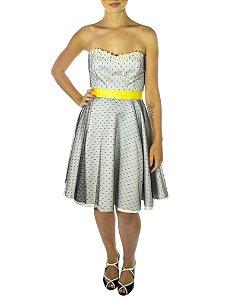 Vestido Princesa Margarida - Branco