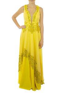 Vestido Sol - Amarelo
