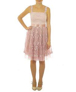 Vestido Sonho de Uma Noite de Verão - Rosa
