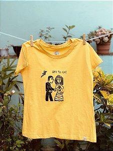 Baby Look Cordel - Amarelo