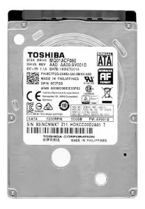 "Hd interno 500GB 2,5"" Toshiba MQ01ABD Series MQ01ABD050V"