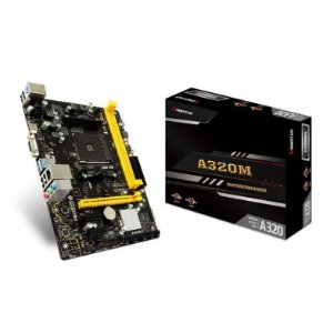 PLACA MAE BIOSTAR A320MH DDR4 SOCKET AM4 CHIPSET AMD A320