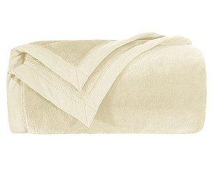 Cobertor Branket 600 Casal - Marfim - Kacyumara