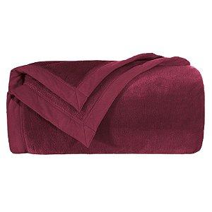 Cobertor Blanket 600 Queen - Wine - Kacyumara