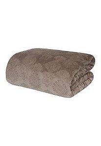 Cobertor Blanket Jacquard 300 Cacau - Queen - Kacyumara