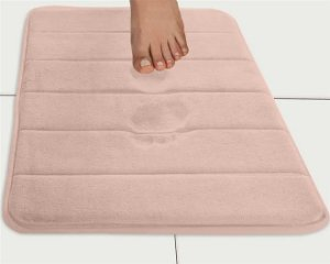 Tapete Super Soft 60cm X 40cm Rosa - Camesa