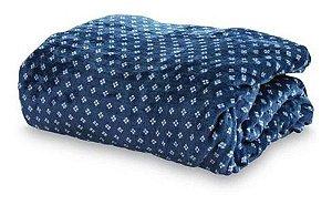 Cobertor Loft Casal  - Camesa - Trevos Azul
