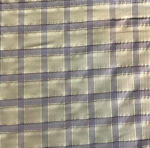 Tecido Linho Bangladesh 100% Algodão - Xadrez Lilás