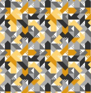 Aquatec 052785 Geométrico Amarelo