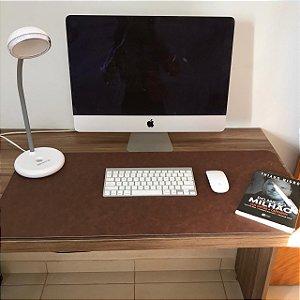 Desk Pad Couro Vegano Canela - 90cm X 40cm - Costurado
